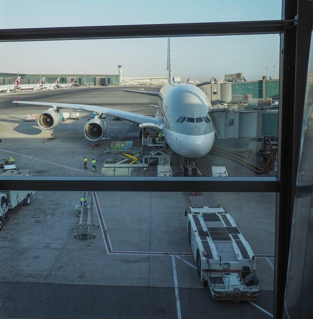 QR F A380 LHR 3 1005x1024 - REVIEW - Qatar Airways : First Class - A380 - Doha (DOH) to London (LHR)