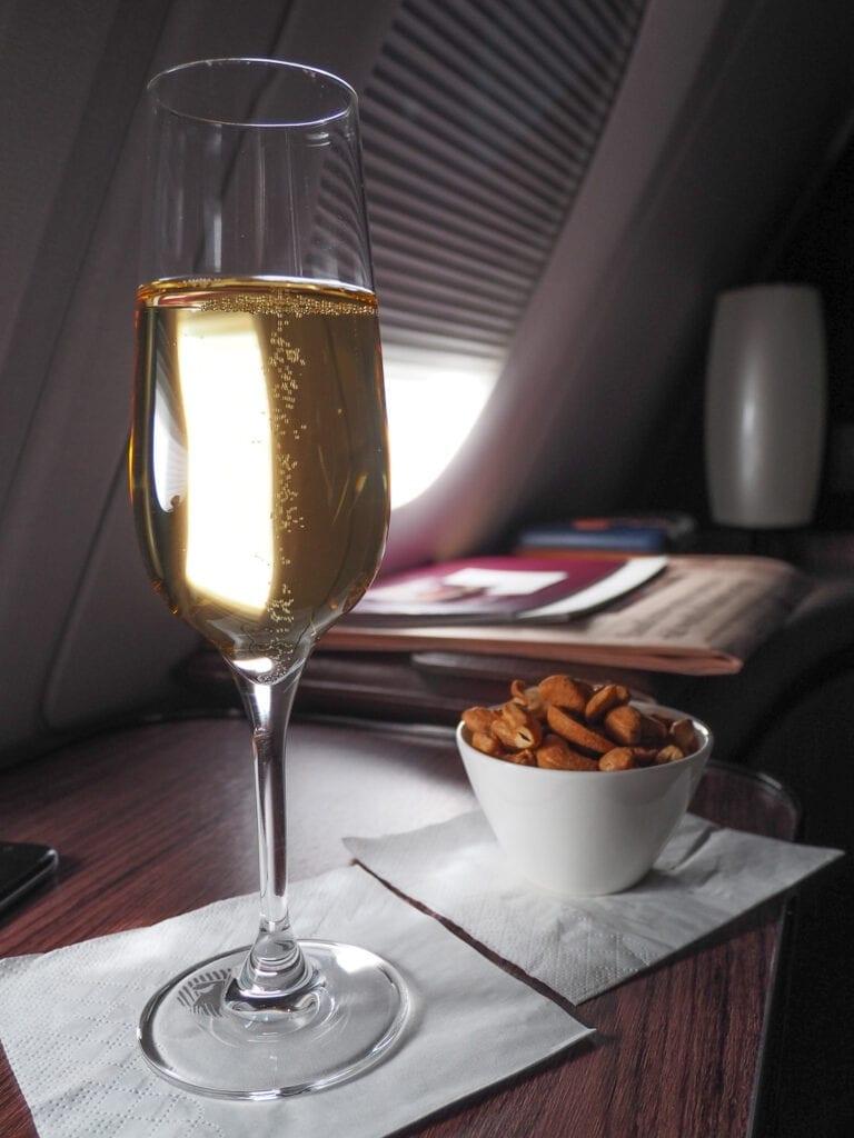 QR F A380 LHR 38 768x1024 - REVIEW - Qatar Airways : First Class - A380 - Doha (DOH) to London (LHR)