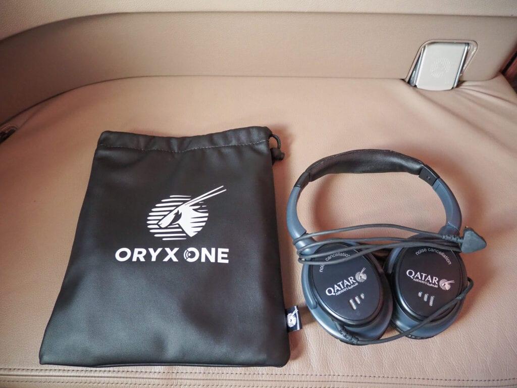 QR F A380 LHR 9 1024x768 - REVIEW - Qatar Airways : First Class - A380 - Doha (DOH) to London (LHR)