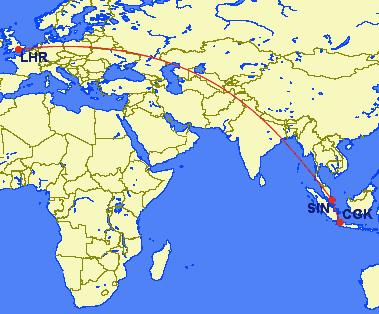 cgk sin lhr - REVIEW - Garuda Indonesia : First Class - Jakarta CGK to London LHR (B777)