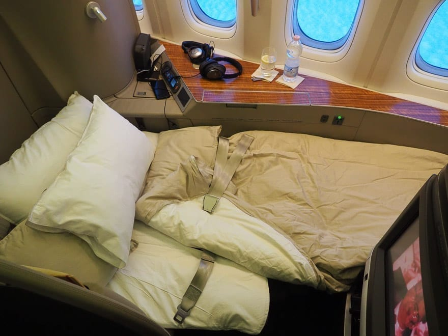 CX F MXP 41 - REVIEW - Cathay Pacific : First Class - B777 - Milan (MXP) to Hong Kong (HKG)