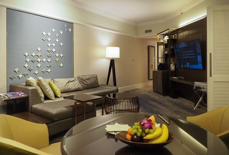 FS Singapore exec suite 37 - REVIEW - Four Seasons Singapore: Executive Suite