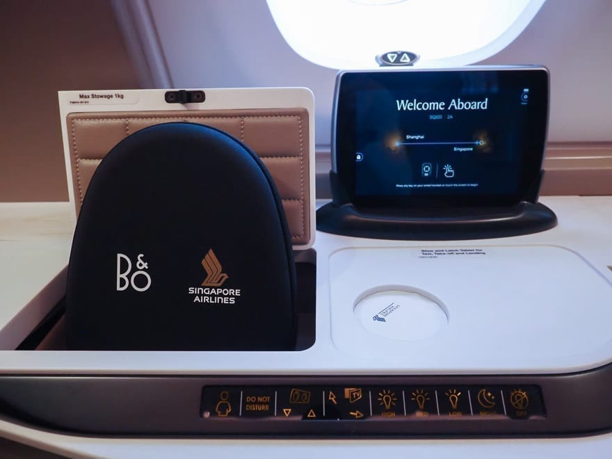 SQ new suites PVG 19 - REVIEW - Singapore Airlines : (NEW) First Class Suites - A380 - Shanghai (PVG) to Singapore (SIN)