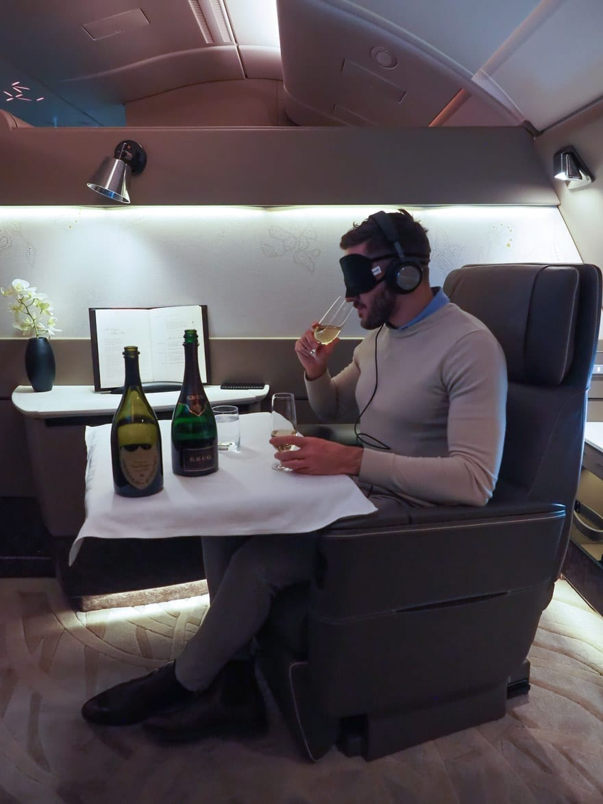 SQ new suites PVG 66 - REVIEW - Singapore Airlines : (NEW) First Class Suites - A380 - Shanghai (PVG) to Singapore (SIN)