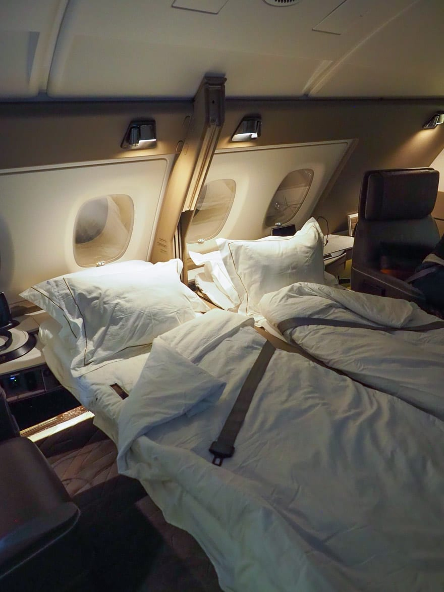 SQ new suites PVG 81 - REVIEW - Singapore Airlines : (NEW) First Class Suites - A380 - Shanghai (PVG) to Singapore (SIN)