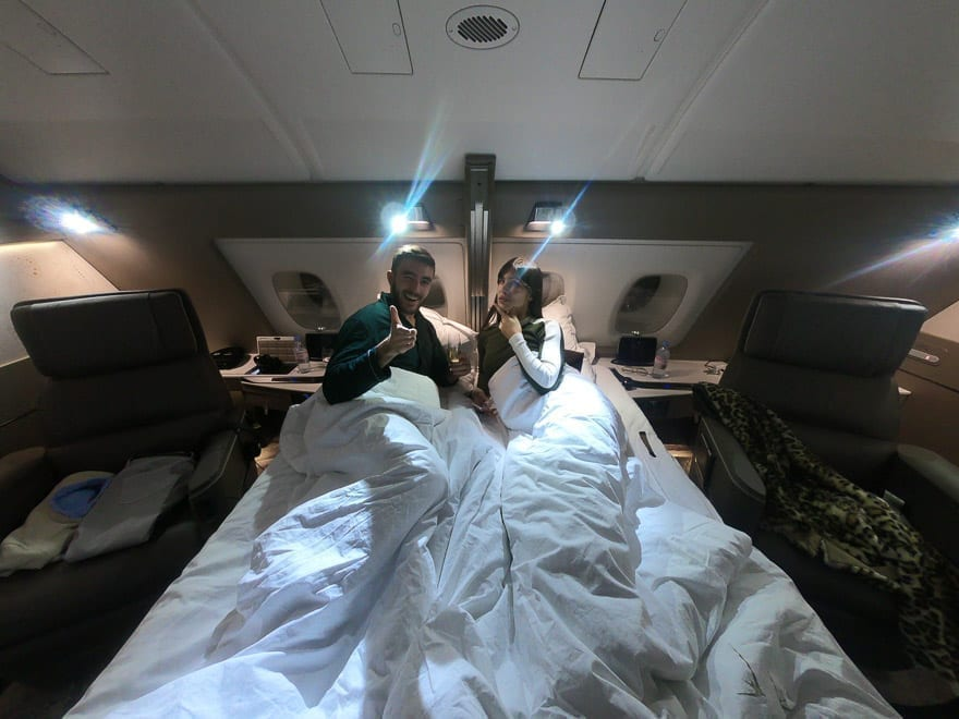 SQ new suites PVG 88 - REVIEW - Singapore Airlines : (NEW) First Class Suites - A380 - Shanghai (PVG) to Singapore (SIN)