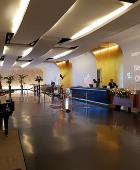 sheraton mxp lobby