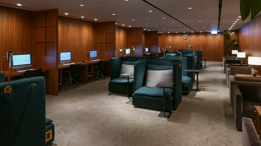 pier J HKG 11 - REVIEW - Cathay Pacific : The Pier Business Class Lounge - Hong Kong HKG