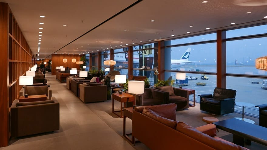 pier J HKG 12 - REVIEW - Cathay Pacific : The Pier Business Class Lounge - Hong Kong HKG