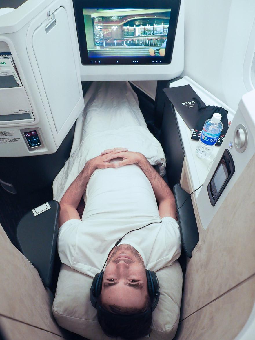 JL J sky suite III 25 - REVIEW - JAL : Business Class - B789 (Sky Suite III) - Jakarta (CGK) to Tokyo (NRT)