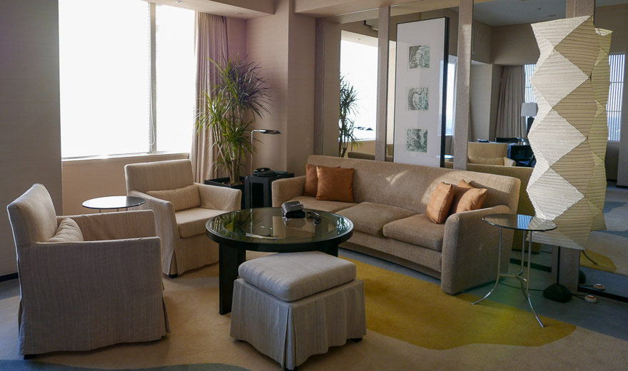 PH Tokyo suite 25 - REVIEW - Park Hyatt Tokyo : Park Suite (NYE Stay)