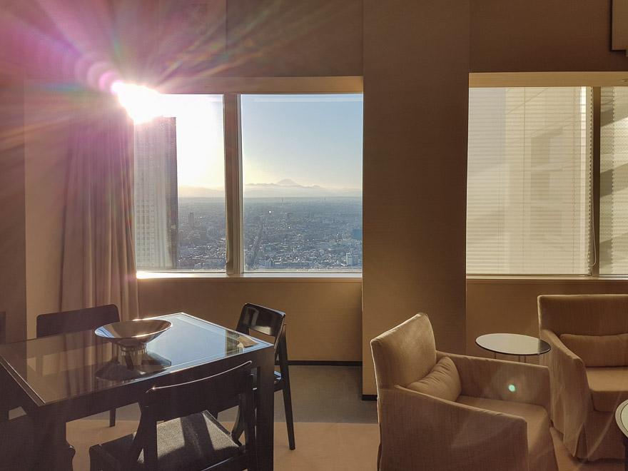 PH Tokyo suite 27 - REVIEW - Park Hyatt Tokyo : Park Suite (NYE Stay)