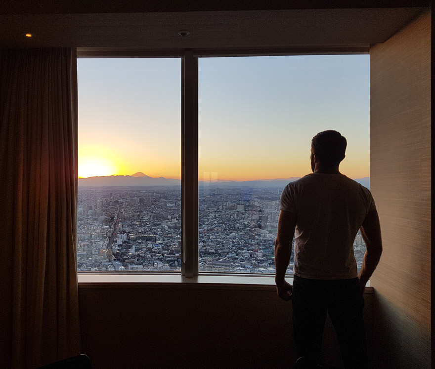 PH Tokyo suite 29 - REVIEW - Park Hyatt Tokyo : Park Suite (NYE Stay)