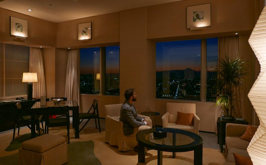 PH Tokyo suite 32 - REVIEW - Park Hyatt Tokyo : Park Suite (NYE Stay)