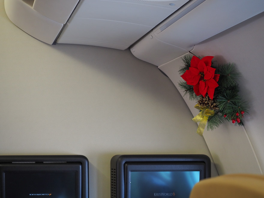 SQ A330 J 14 - REVIEW - Singapore Airlines : Business Class - A330 - Singapore (SIN) to Bali (DPS)