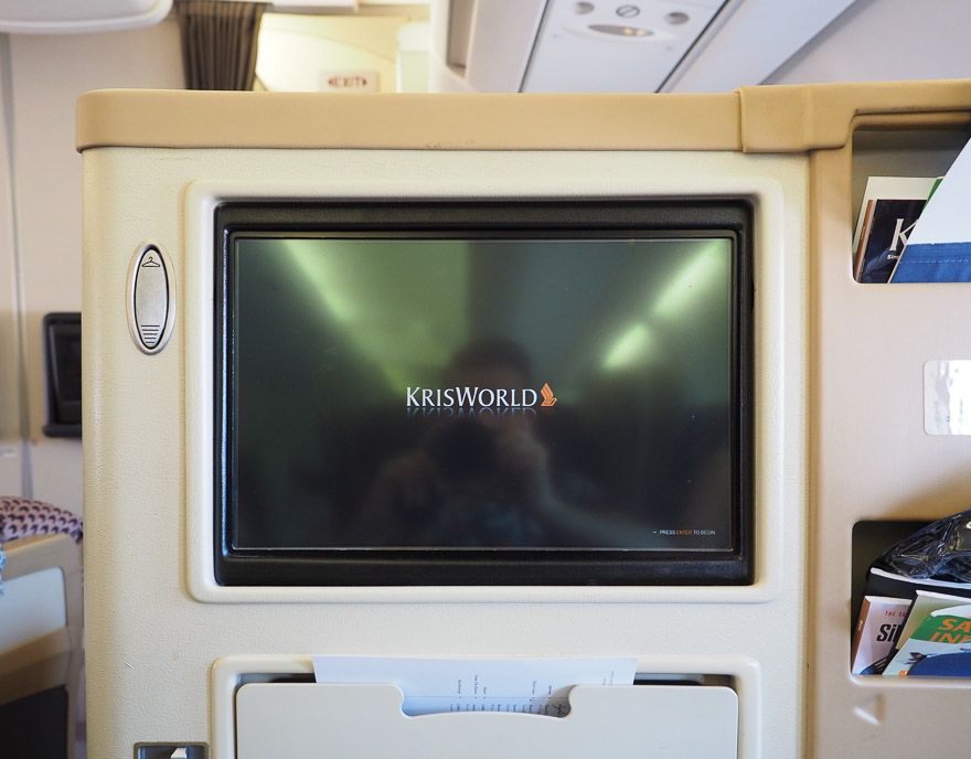 SQ A330 J 16 - REVIEW - Singapore Airlines : Business Class - A330 - Singapore (SIN) to Bali (DPS)