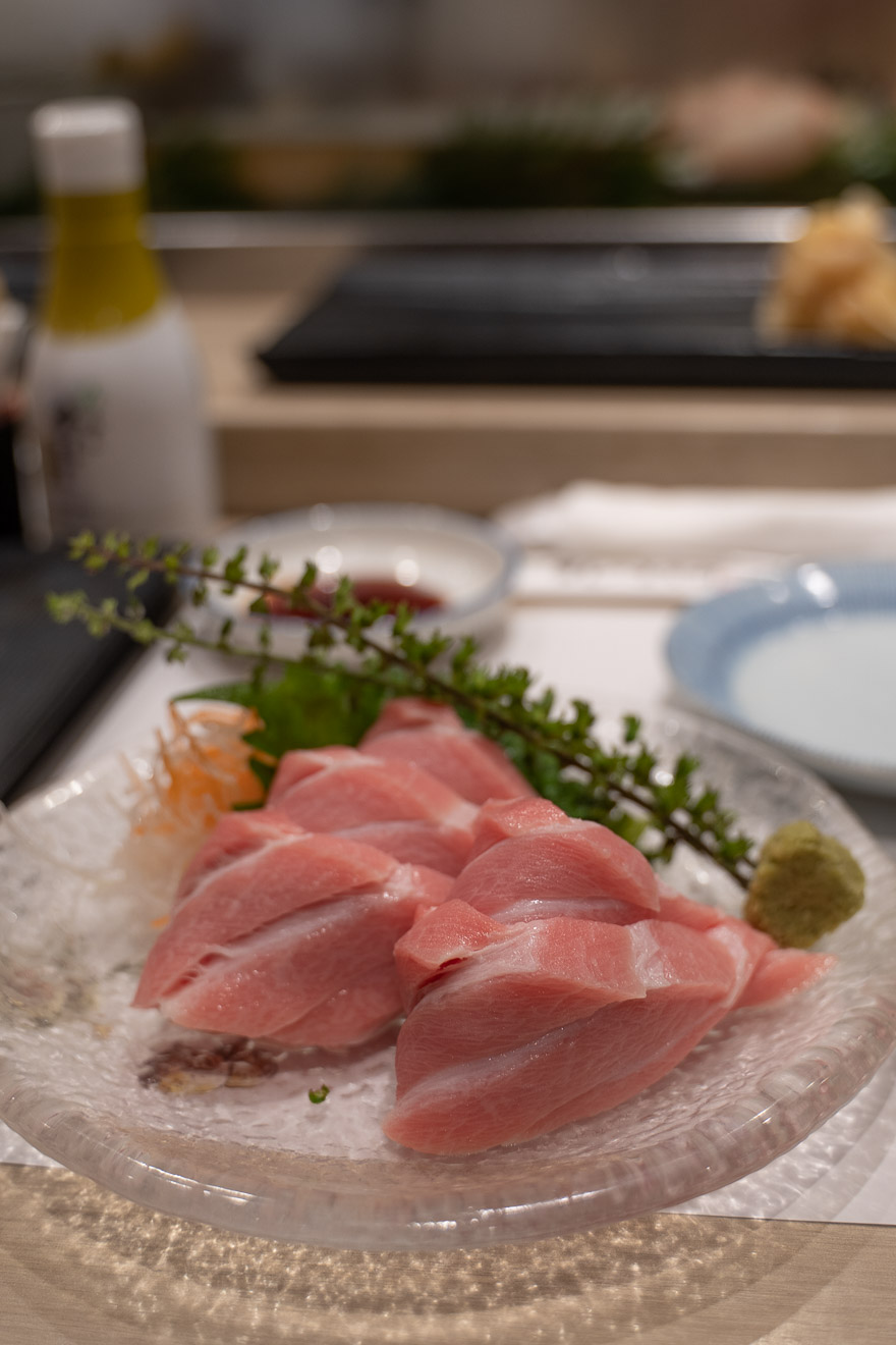 Sushi no Midori Ginza 1 - REVIEW - Conrad Tokyo : Two Bayview Suites & A Corner Bayview Suite