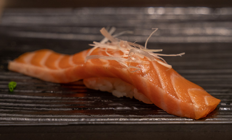 Sushi no Midori Ginza 6 - REVIEW - Conrad Tokyo : Two Bayview Suites & A Corner Bayview Suite