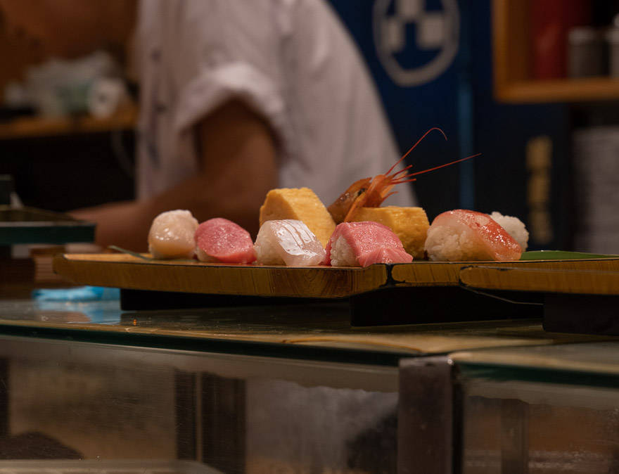Sushi no Midori Ginza 7 - REVIEW - Conrad Tokyo : Two Bayview Suites & A Corner Bayview Suite