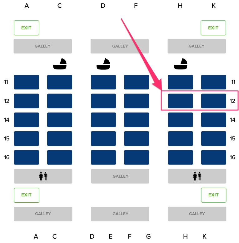 a330 300 seatmap SQ - REVIEW - Singapore Airlines : Business Class - A330 - Singapore (SIN) to Bali (DPS)