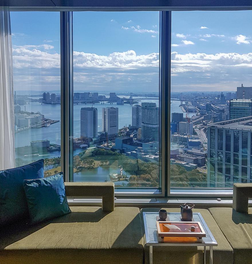 conrad tokyo bay view 1 - REVIEW - Conrad Tokyo : Two Bayview Suites & A Corner Bayview Suite