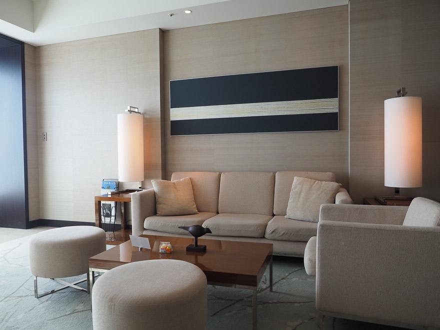 conrad tokyo corner suite bay view 13 - REVIEW - Conrad Tokyo : Two Bayview Suites & A Corner Bayview Suite