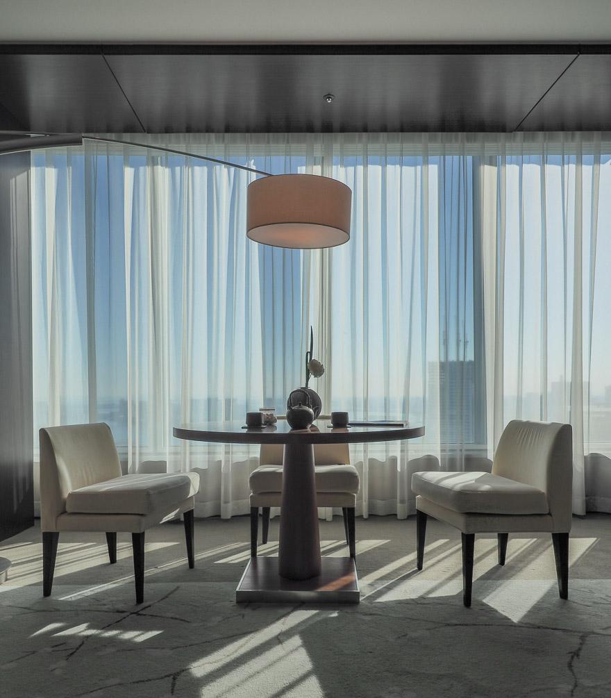 conrad tokyo corner suite bay view 15 - REVIEW - Conrad Tokyo : Two Bayview Suites & A Corner Bayview Suite