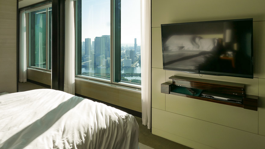 conrad tokyo king baby suite bay view 28 - REVIEW - Conrad Tokyo : Two Bayview Suites & A Corner Bayview Suite