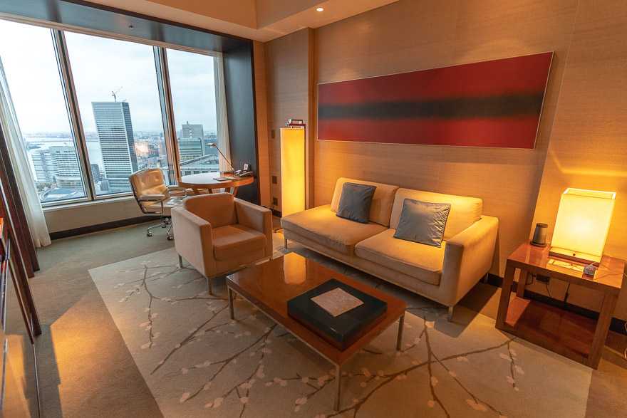 conrad twin suite bay view 3 - REVIEW - Conrad Tokyo : Two Bayview Suites & A Corner Bayview Suite
