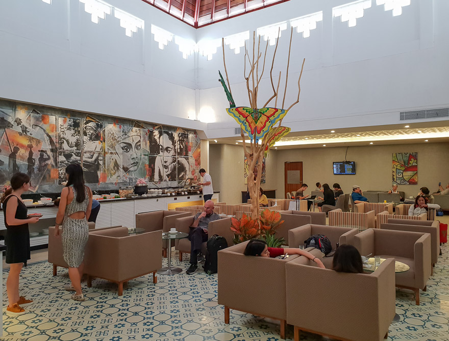 dps concordia lounge 1 - REVIEW - Concordia Lounge : Bali (DPS - Domestic)