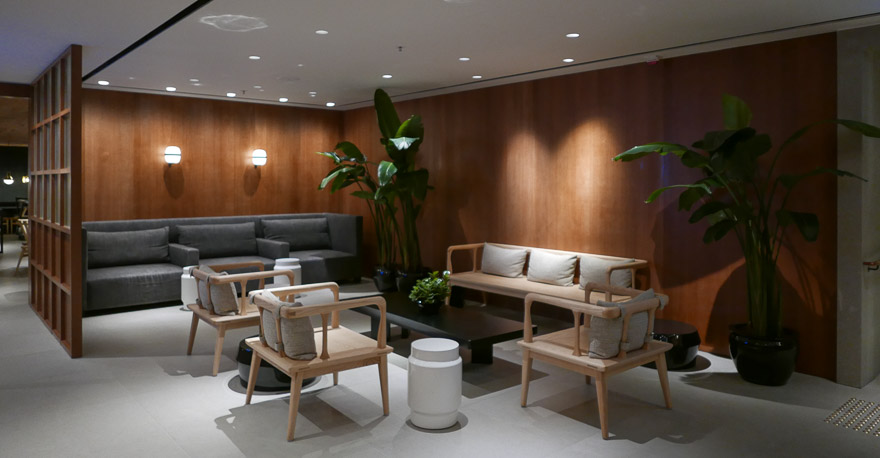 pier J HKG 33 - REVIEW - Cathay Pacific : The Pier Business Class Lounge - Hong Kong HKG