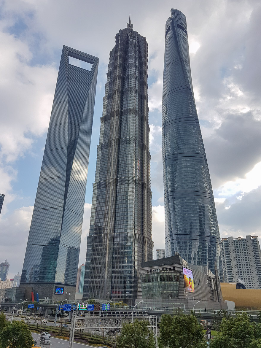 shanghai skyline 1 - REVIEW - Park Hyatt Shanghai : Park Suite