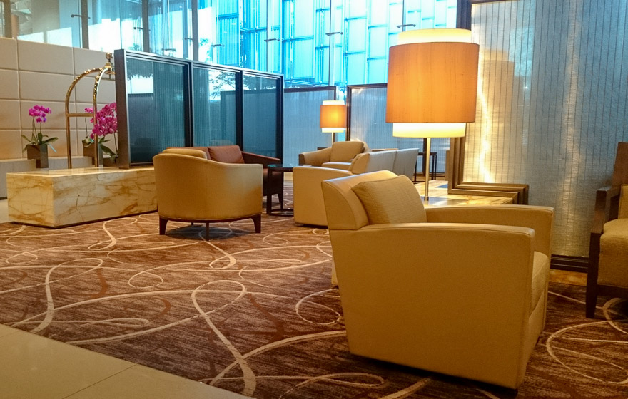 sq first class check in 1 - REVIEW - Singapore Airlines : Business Class - A330 - Singapore (SIN) to Bali (DPS)