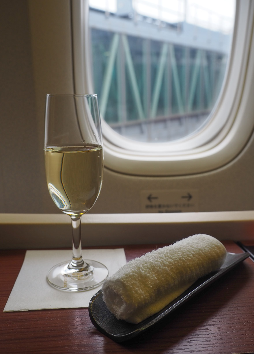 JL F Cristal etro de 2018 13 - REVIEW - JAL : First Class - B777 - Tokyo (HND) to London (LHR)