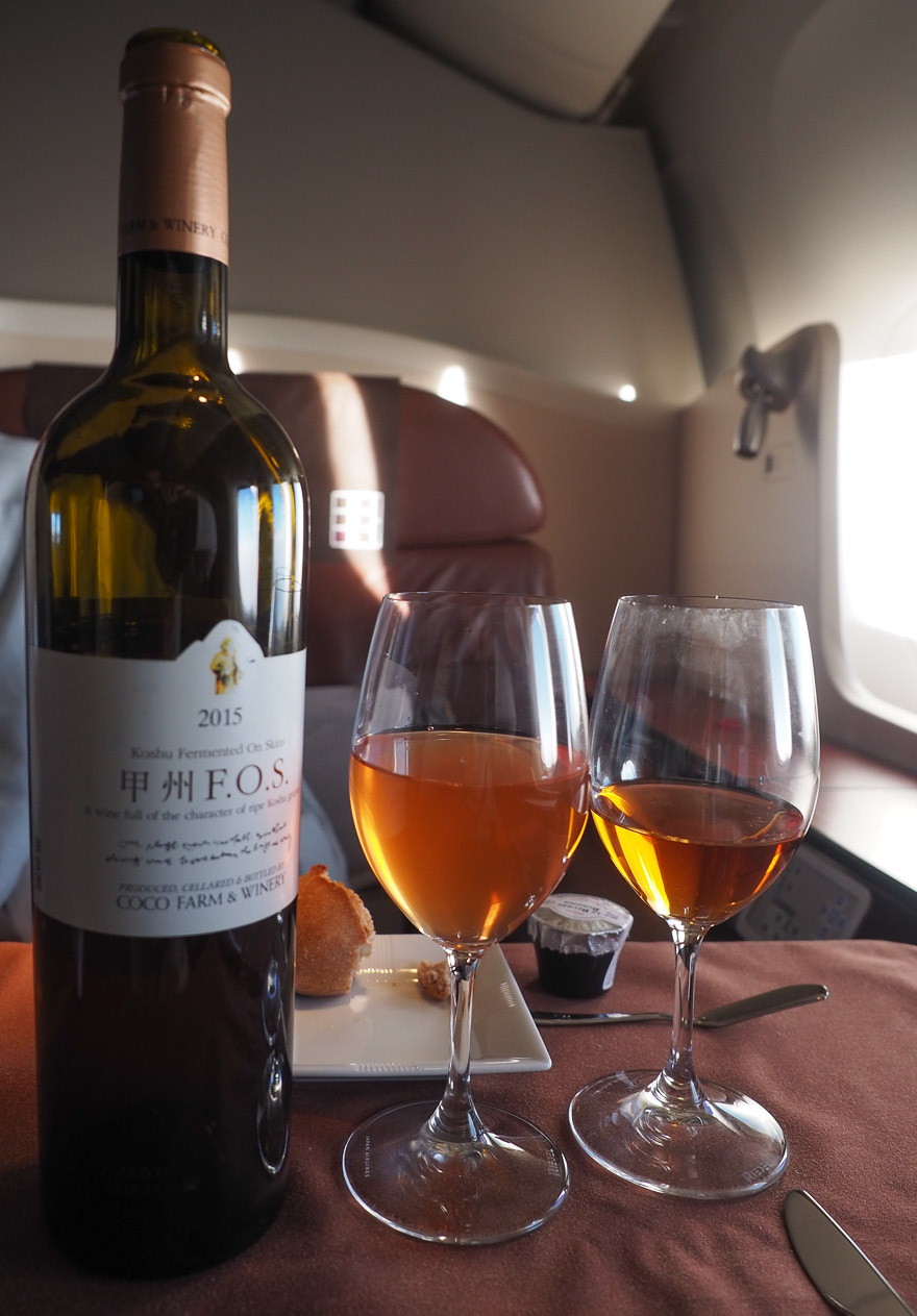 JL F Cristal etro de 2018 61 - REVIEW - JAL : First Class - B777 - Tokyo (HND) to London (LHR)
