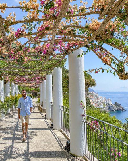 NH convento amalfi 102 450x564 - REVIEW - NH Collection Grand Hotel Convento di Amalfi : Junior Suite with Tatami bed [COVID-era]