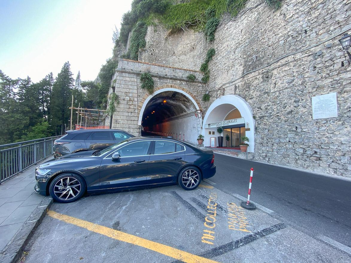 NH convento amalfi 2 - REVIEW - NH Collection Grand Hotel Convento di Amalfi : Junior Suite with Tatami bed [COVID-era]