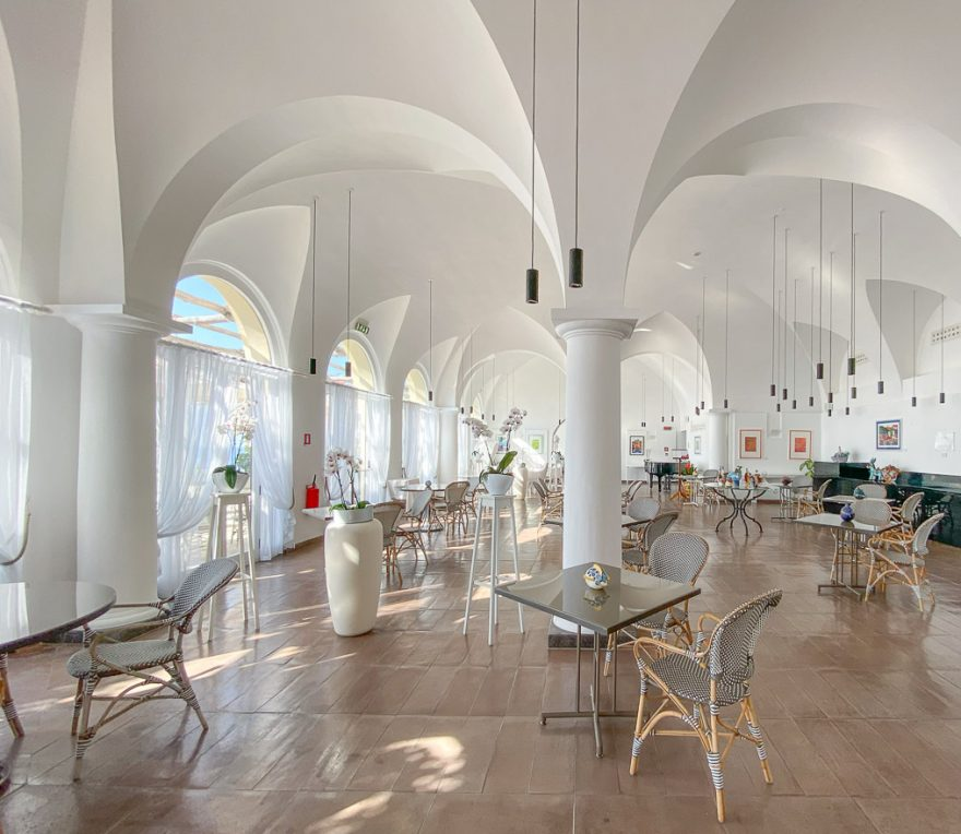 NH convento amalfi 40 880x764 - REVIEW - NH Collection Grand Hotel Convento di Amalfi : Junior Suite with Tatami bed [COVID-era]