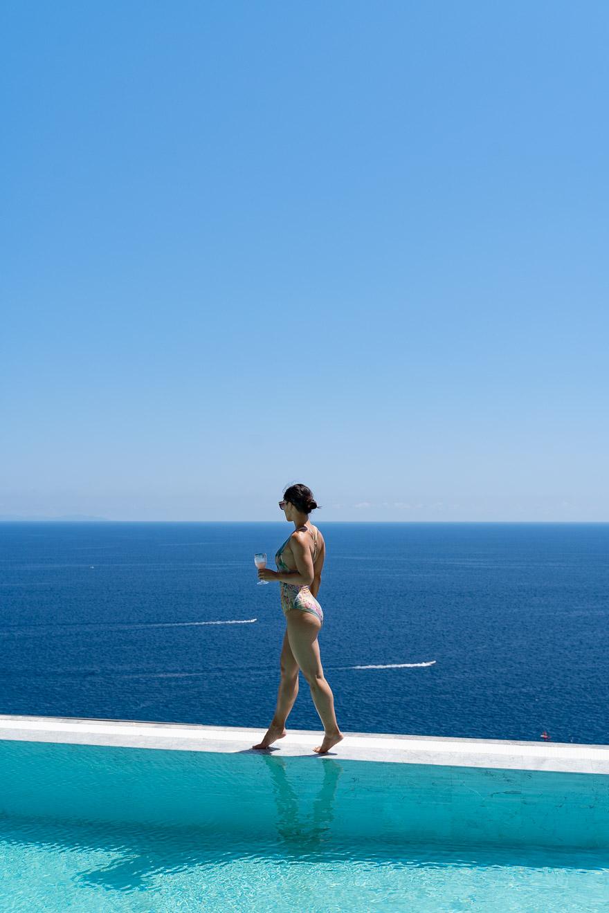 NH convento amalfi 85 - REVIEW - NH Collection Grand Hotel Convento di Amalfi : Junior Suite with Tatami bed [COVID-era]