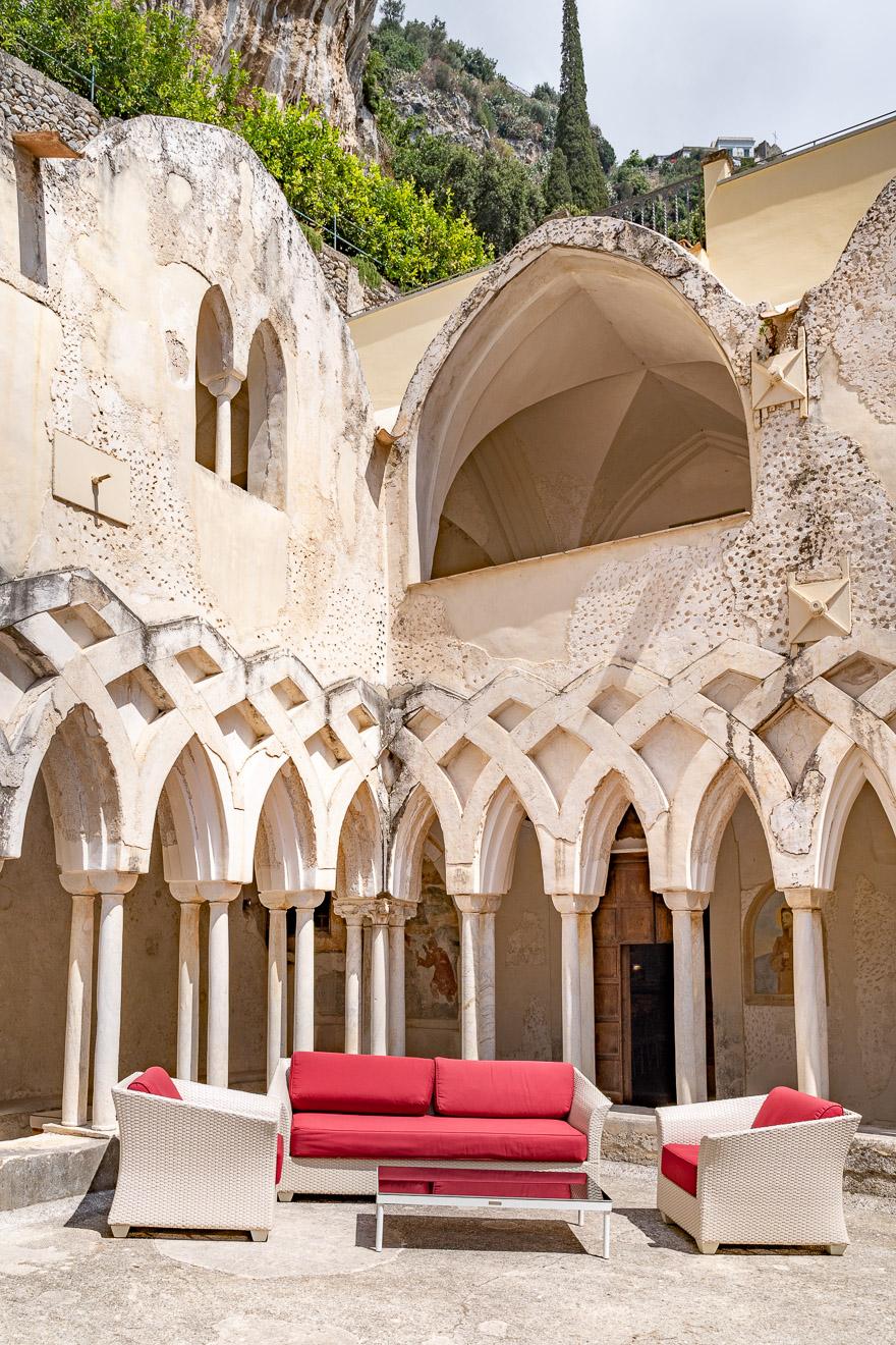 NH convento amalfi 98 - REVIEW - NH Collection Grand Hotel Convento di Amalfi : Junior Suite with Tatami bed [COVID-era]