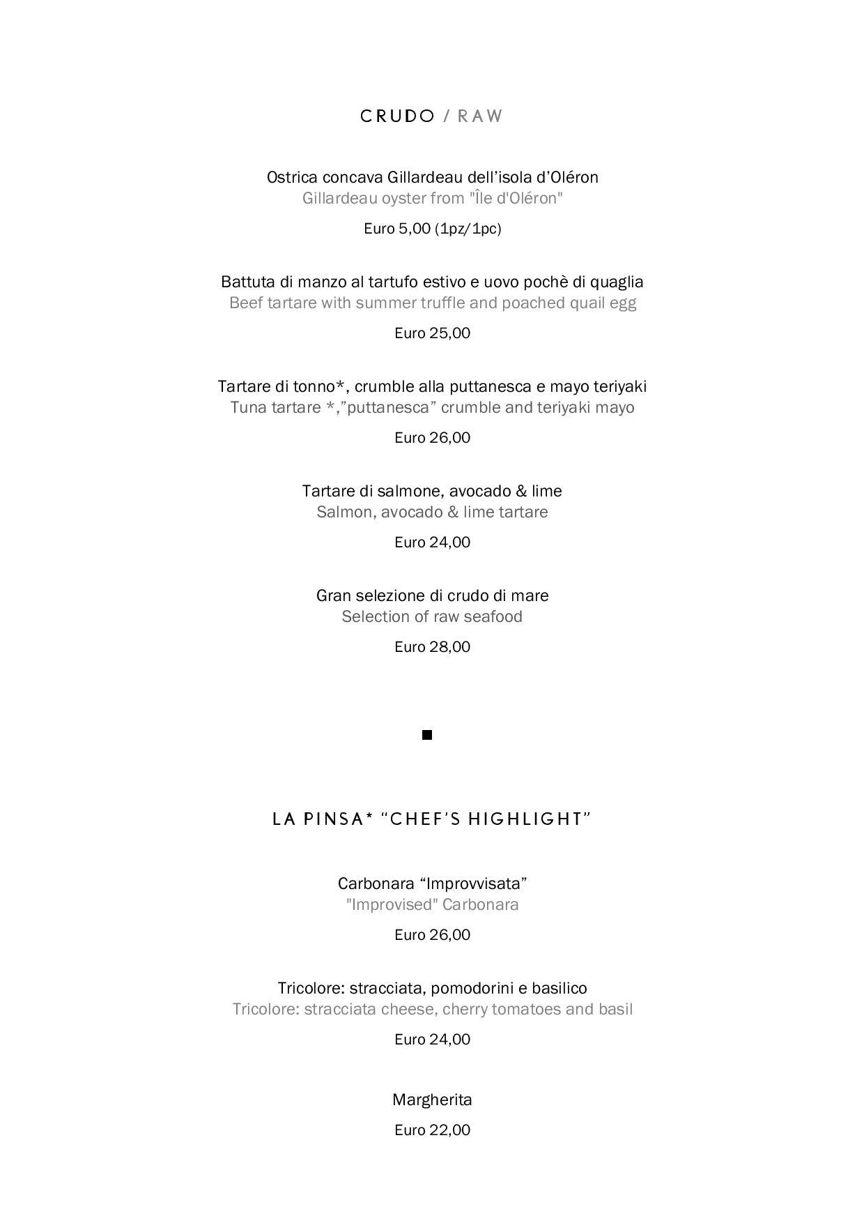Uliveto food page 002 1 - REVIEW - Rome Cavalieri a Waldorf Astoria Hotel : Premium Rome View Room [COVID-era]