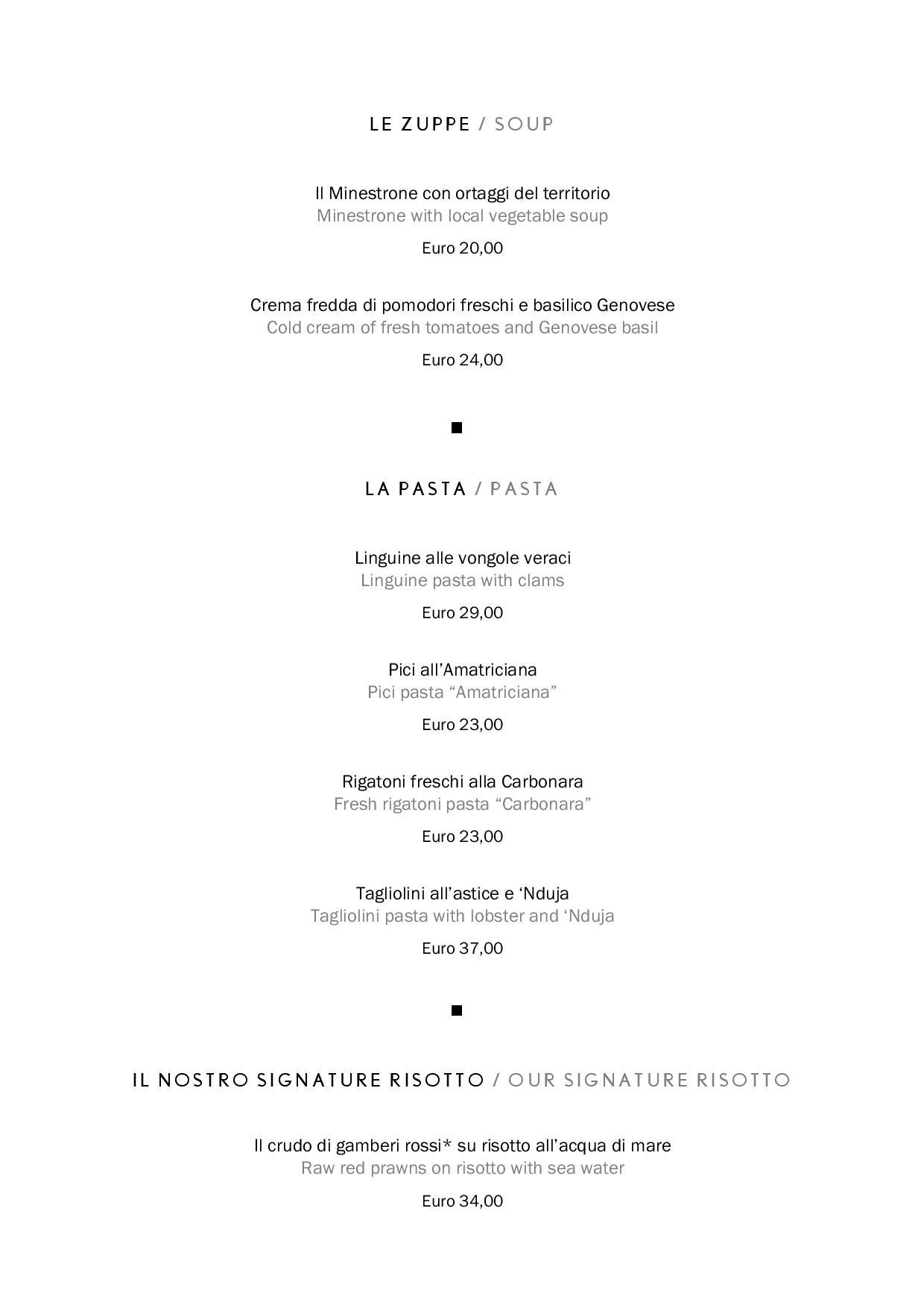 Uliveto food page 003 1 - REVIEW - Rome Cavalieri a Waldorf Astoria Hotel : Premium Rome View Room [COVID-era]