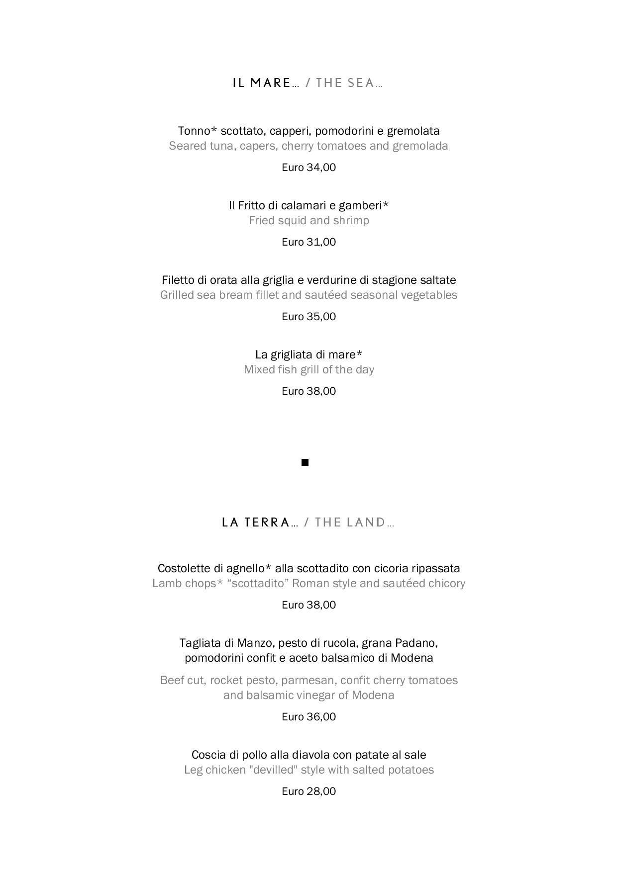 Uliveto food page 004 1 - REVIEW - Rome Cavalieri a Waldorf Astoria Hotel : Premium Rome View Room [COVID-era]