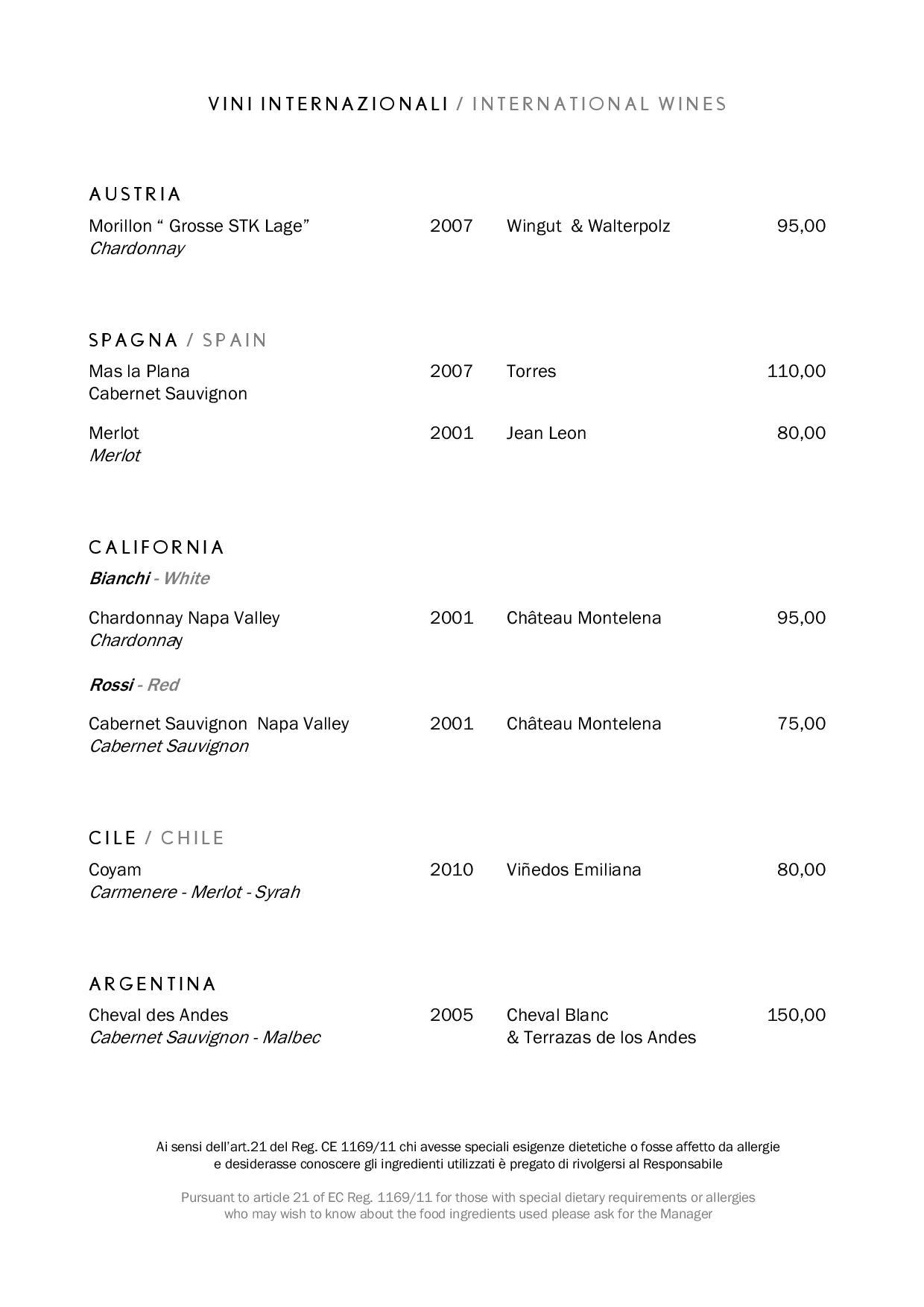 Uliveto wine page 014 1 - REVIEW - Rome Cavalieri a Waldorf Astoria Hotel : Premium Rome View Room [COVID-era]