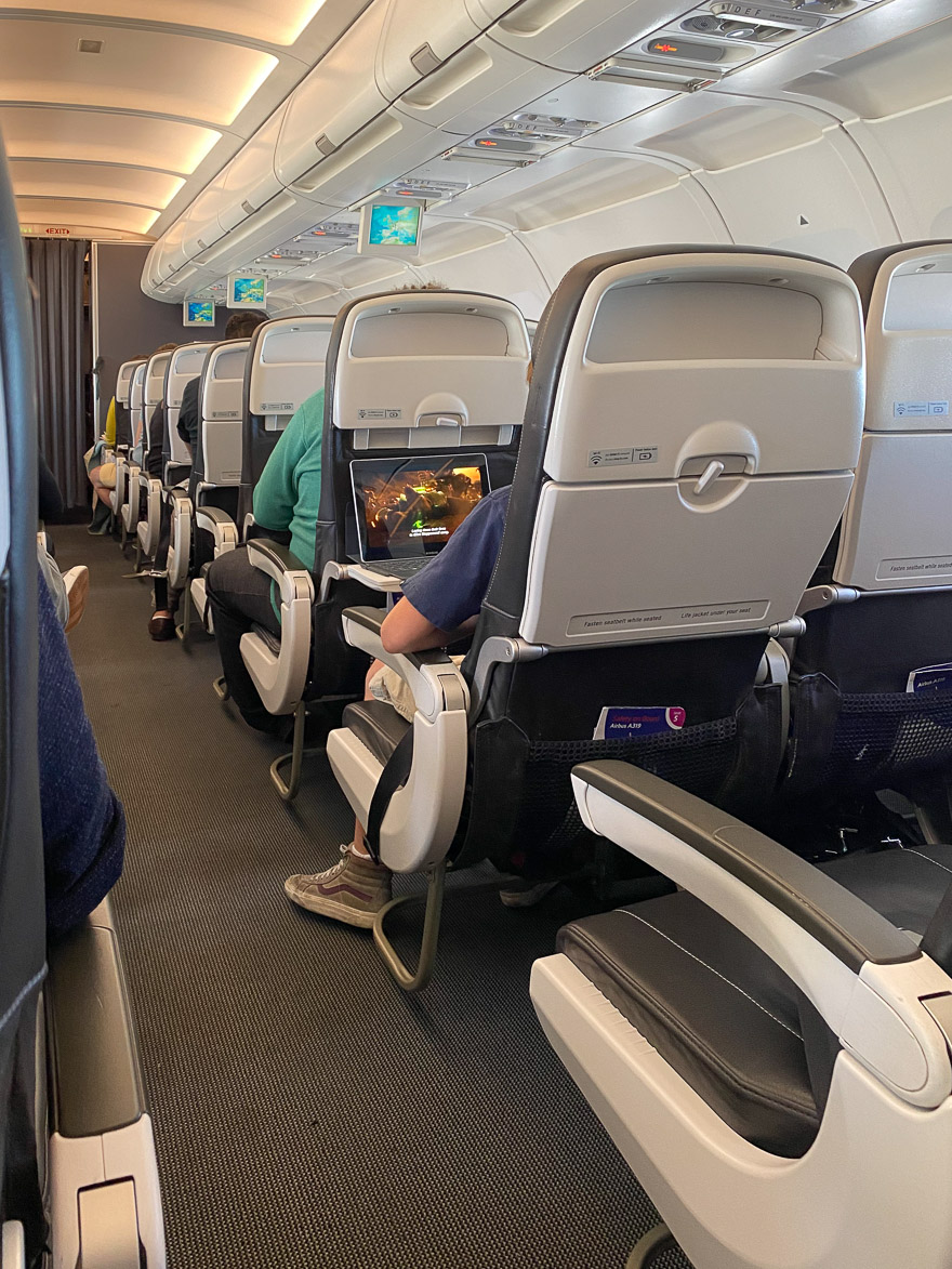 covid Club Europe A321 1 - REVIEW - British Airways : Club Europe Business Class - A319 - London (LHR) to Rome (FCO) - [COVID-era]