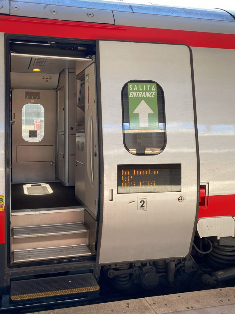 train venice florence 4 768x1024 - REVIEW - Frecciargento : First Class - Train - Florence to Venice [COVID-era]