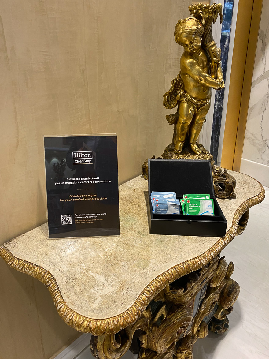 waldorf cavalieri 13 - REVIEW - Rome Cavalieri a Waldorf Astoria Hotel : Premium Rome View Room [COVID-era]