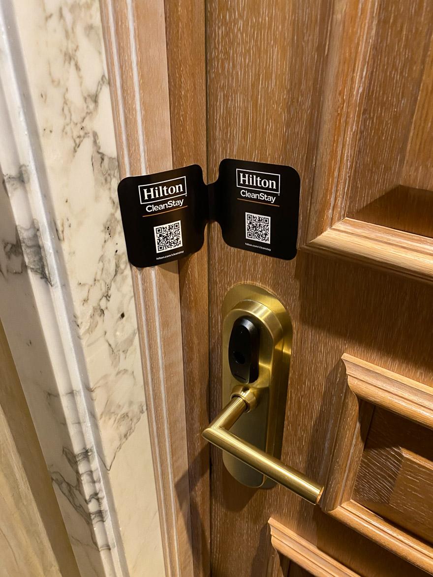 waldorf cavalieri 18 - REVIEW - Rome Cavalieri a Waldorf Astoria Hotel : Premium Rome View Room [COVID-era]