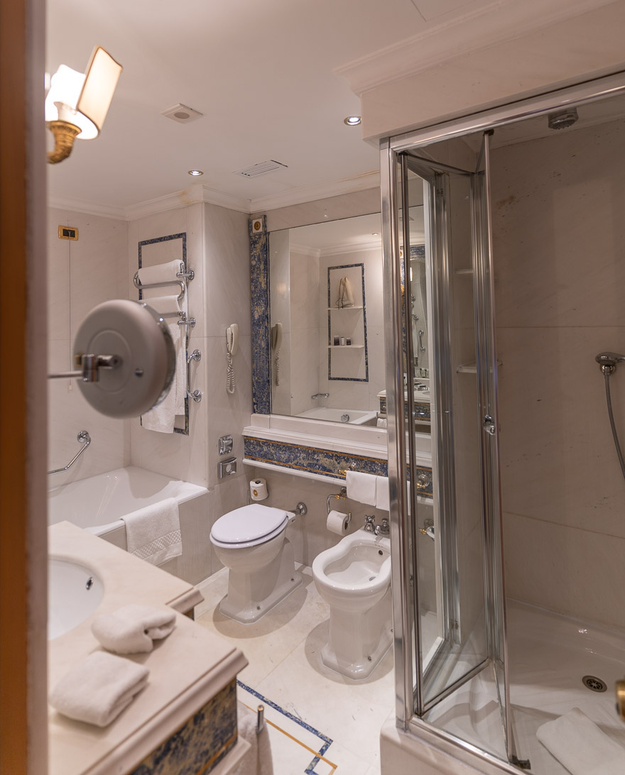 waldorf cavalieri 24 - REVIEW - Rome Cavalieri a Waldorf Astoria Hotel : Premium Rome View Room [COVID-era]
