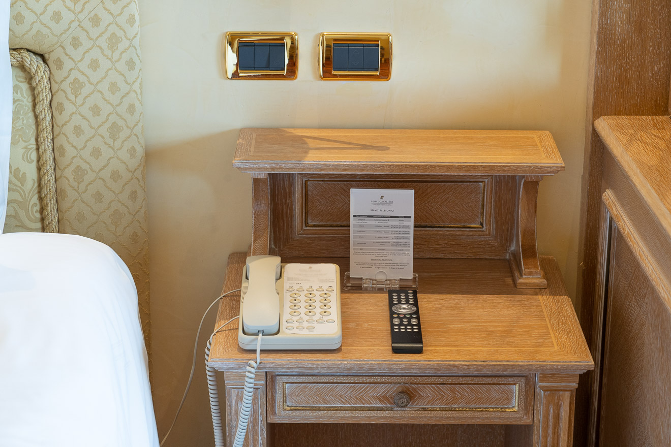 waldorf cavalieri 29 - REVIEW - Rome Cavalieri a Waldorf Astoria Hotel : Premium Rome View Room [COVID-era]